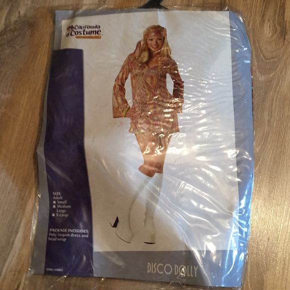 California Costumes Other - Disco Dolly Costume